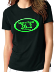 26.2 Marathon Black t-shirt