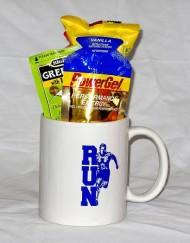 Running man gift mug