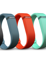 Fitbit Flex 5 different colors activity trackers
