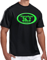 26.2 Marathon_Black 26.2 Marathon Finisher Technical T-shirt