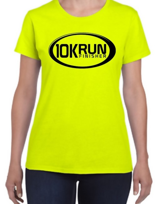 10K Run Finisher t-shirt