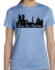 Run the Nation Running t shirt