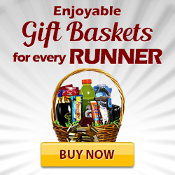 Gift baskets for runners